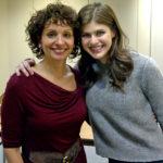 Kathleena Gorga with Alzandra Daddaria at GirlUp!