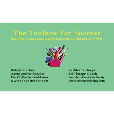 Women's Toolbox for Success business card
