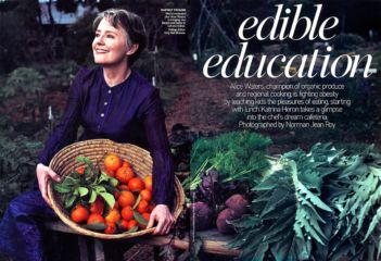 Alice Waters - Vogue Magazine