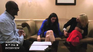 Phillip Siddiq interviews Ari Graynor and Lauren Anne Miller for the film, 'For A Good Time, Call...