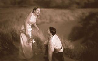 sepia-bride-groom-wheatfield